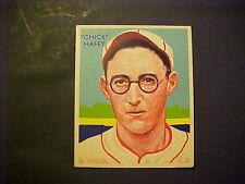1934-36  NATIONAL CHICLE DIAMOND STARS BASEBALL  #18  DICK HAFEY  EX-MT