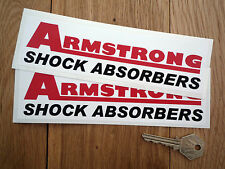 ARMSTRONG SHOCK ABSORBERS Stickers Healey Elan TRIUMPH
