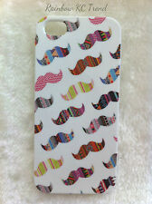 Aztec Tribal Moustache Printed iPhone 5 Case for Apple iPhone 5/5s