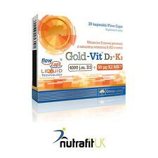 OLIMP LABS GOLD VIT D3 + K2 30 CAPS VITAMIN BLOOD CLOTTING BONES TEETH SUPPORT