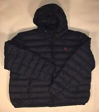 Ralph Lauren Polo Mens Packable Puffer Down Jacket Navy MSRP $245 SZ 3XB NWT