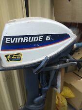6 horsepower evenrude outboard engine