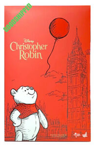 READY HOT TOYS CHRISTOPHER ROBIN WINNIE THE POOH MMS502 1/6 NEW MISB LAST