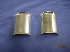 MG   NEW  PAIR MIDGET/AUSTIN HEALEY SPRITE REAR SPRING SADDLE PLATE**BC74