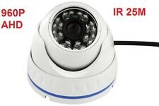 Analog HD AHD 960P 1.3MP CMOS IR Night Vision Outdoor CCTV Security Dome Camera