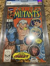 New Mutants 87 cgc 9.8 WP 1st cable