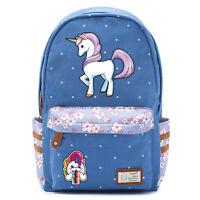 Dabbing unicorn Dab Cute horse backpack Rucksack school book bag For Girls
