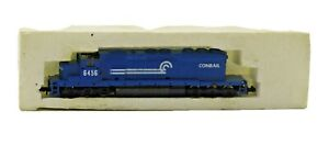 Vintage N Scale MiniTrix Conrail 6456 Diesel Locomotive Blue in Box 2007