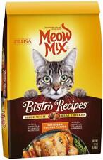New listing Meow Mix Bistro Recipes Dry Cat Food