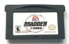 Gameboy Advance Game GBA SP DS DSL ~ MADDEN 03 ~ Many Options and Bonus Games