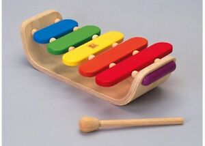 Plan Toys - Oval Xylophone NEW * child toy music instrument