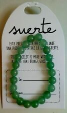 Pulsera  de bolas jade natural  10mm amuleto /Jade bracelet