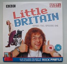 Little Britain DVD. Series Two, Episode One. Certificate 15