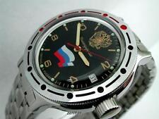 RUSSIAN  VOSTOK AUTO AMPHIBIAN MILITARY WATCH  #420453 NEW