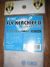 New Tiemco Fly Kerchief II Dry Fly Nano-Technology Cloth
