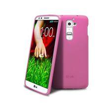 Coque Housse Pour LG G2 Semi Rigide Extra Fine Mat/Brillant Rose