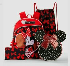 Minnie Mouse 5 Piece Backpack Set.