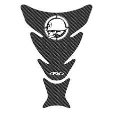 Factory Effex Fuel Tank Protector Pad Carbon Metal Mulisha GSXR CBR R1 R6 Ninja