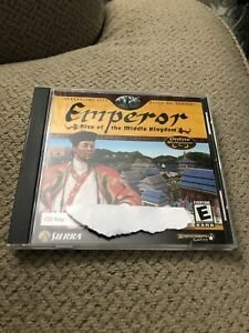 Emperor - Rise Of The Middle Kindom - (PC 2002)