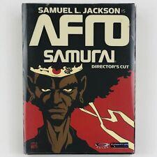 Afro Samurai Director's Cut (DVD, 2-Disc Set)