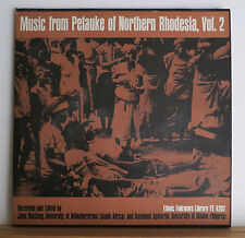 Music from Petauke of Northern Rhodesia Vol 2 1965 + 2 African Tribal Music LPs