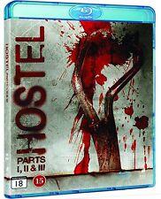 Hostel 1-3 Unrated Region Free Blu Ray