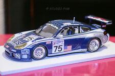 i PORSCHE GT3 RS #75 ORBIT RACING Le MANS 2002 extrem Rar 1/999 MINICHAMPS 1/43