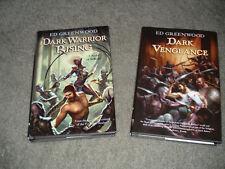 Dark Warrior Rising (2007) + Dark Vengeance (2008) - Ed Greenwood - Hardcover