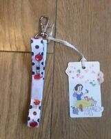 Cath Kidston Disney Snow White Apples & Little Spot Lanyard Brand New With Tags
