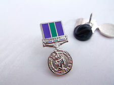 GSM GENERAL SERVICE MEDAL CYPRUS HM H M ARMED FORCES ARMY LAPEL PIN BADGE