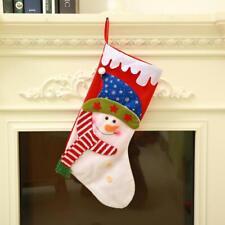 Festive Snowman Bag Holder Xmas Wine Hat Christmas Bottle Cover Stockings Hanger