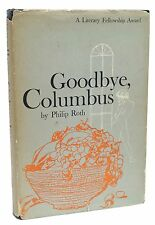 Goodbye Columbus First Edition Philip Roth Signed Bookplate 1959