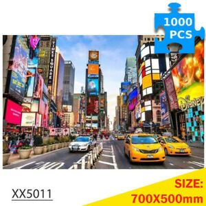 1000Pcs Jigsaw Puzzles Bustling City for Adult Kids Puzzle Home Decor Toys Games