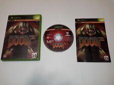 Doom 3 (Xbox) versión europea PAL