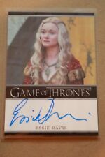 GAME OF THRONES SEASON 7 - TRADING CARDS ESSIE DAVIS AUTOGRAPH CARD