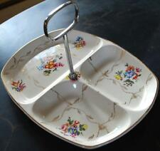 Vintage 1930s MIDWINTER Stylecraft DIVIDED HANDLED TRAY Staffordshire W Gold