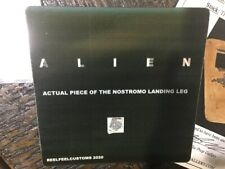 ALIEN 1979 MOVIE PROP piece of the NOSTROMO LANDING LEG Neca 40th Alien Big Chap