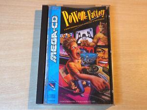 Sega Mega CD - Power Factory by Sony / RARE PAL Version