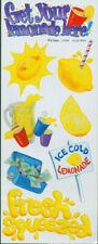 2 - NRN Designs Stickers Lemonade Stand Lemons Scrapbooking Card Making