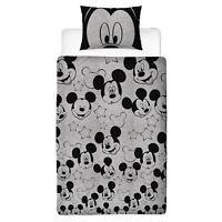 Disney Mickey Mouse Silhoutte Set Housse de Couette Simple Garçons Filles -
