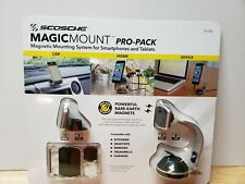 Scosche MagicMount Pro Pack Smartphone Tablet Magnetic Mounting System Magnets