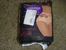 Always Discreet Boutique Max Protection Underwear large - 10 Ct Distressed Packs