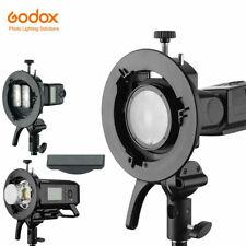 US Godox S2 S-type Flash Bracket Bowens for Godox V1 TT685 V860II AD200 AD400pro