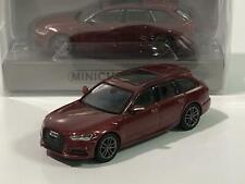 Minichamps 870018114 Audi A6 Avant Red Metallic 2018 1:87 Scale
