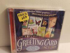 Art Explosion Greeting Card Factory (2 CD-Roms, 2000, Nova)