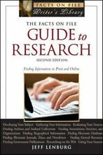 The Facts on File Guide to Research, 2nd Edition (Facts on File Library of