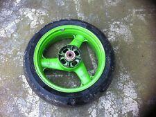 Hinterrad mit gutem Reifen 6mm Michelin 180/55 ZR17 DOT 3114 Kawasaki ZXR 750 H