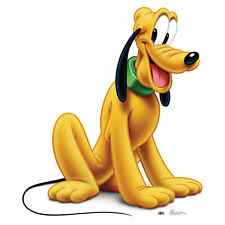 PLUTO Disney Mickey Mouse Cartoon Dog CARDBOARD CUTOUT Standee Standup Poster