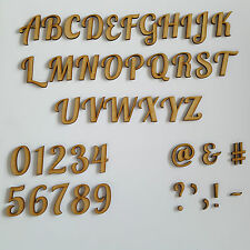 Wooden Lobster Letters, Alphabet & Numbers Between Sizes 2-10cm Crafts Wedding