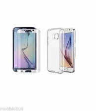 Étuis, housses et coques blancs Samsung Galaxy S7 edge en silicone, caoutchouc, gel pour téléphone mobile et assistant personnel (PDA)